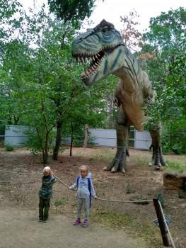 Евпатория парк Динозавров